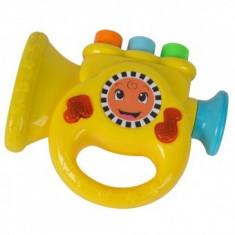Jucarie muzicala Simba ABC Trompeta galben