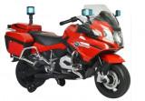 Motocicleta electrica de politie BMW, rosu