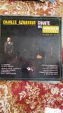 Disc vinyl/charles aznavour/chante en multiphonie stereo, VINIL, Galt