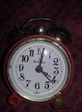 Ceas vechi de masa ROIAL ACE,GERMANY,ceas de colectie,ceas Defect,T.GRATUIT