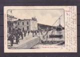 GALATI  SALUTARI  DIN PORTUL  GALATI  CLASICA  CIRCULATA 1902
