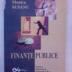 Finante publice - MONICA SUSANU , 2004