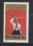 1979 Romania,LP 981-30 ani dela crearea primelor detas. de pionieri-STAMPILATE, Stampilat
