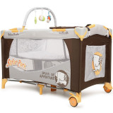Patut pliabil Moni cu doua nivele Happy Baby Safari