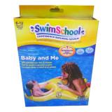 Scaun gonflabil pentru bebelusi Swim, Galben