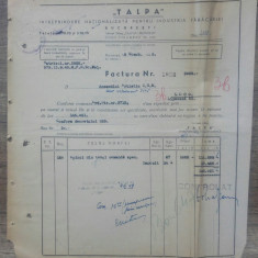 Document Talpa, Intreprindere Nationalizata pt Industria Tabacariei/ 1949