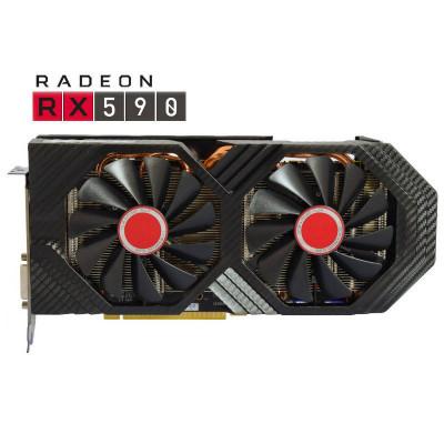 Placa video XFX AMD Radeon RX 590 FATBOY OC+ 8GB GDDR5 256bit foto