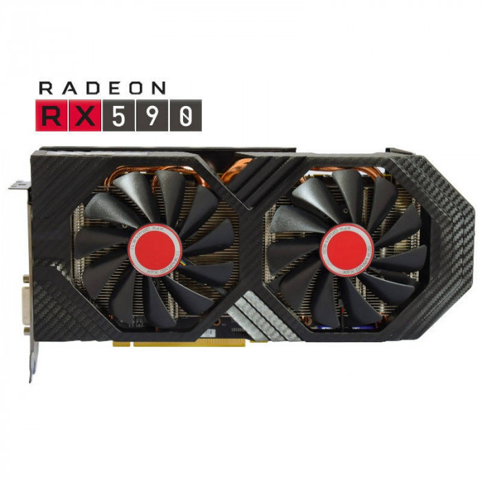 Placa video XFX AMD Radeon RX 590 FATBOY OC+ 8GB GDDR5 256bit