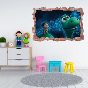 Sticker 3D perete, 60x90cm, The Good Dinosaur