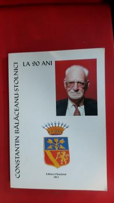 Constantin Bălăceanu – Stolnici la 90 de ani foto