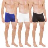 Set 3 boxeri pentru slabit Skin Up barbati, multicolor, marimea S/M