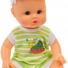 Bebelus de jucarie cu biberon, olita, suzeta si pampers - 702A4