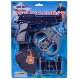 Set arma de jucarie pentru copii, model psitol cu 4 accesorii