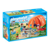 Cumpara ieftin Set de joaca Playmobil Family Fun, Cort Camping