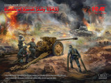 ICM DS3505 - 1:35 Battle of Kursk (July 1943) T-34-76 (early 1943) & Pak 36(r ) with Crew