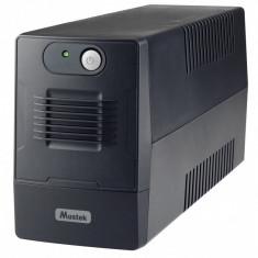 UPS Mustek PowerMust 600 EG LED 650VA Schuko