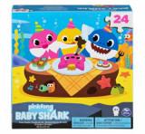 Cumpara ieftin Puzzle de podea Baby Shark, 24 piese, 61 x 46 cm, Spin Master