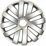 Capace roata 16 inch tip Vw, culoare Silver 16-409 Kft Auto