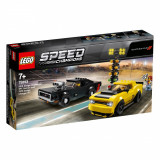 LEGO® Speed Champions - 2018 Dodge Challenger SRT Demon si 1970 Dodge Charger R/T (75893)