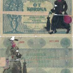 1919 ( 10 V ) , 5 korona ( P-34 ) - Ungaria