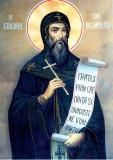 Icoana Sfantul Cuvios Grigorie Decapolitul