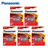 Baterii CR123 / CR123A -Panasonic ,5 buc