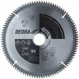 Panza de ferastrau circular cu dinti de vidia pentru aluminiu 250mm X 100mm X 30mm DEDRA