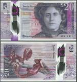 SCOTLAND SCOTIA bancnota 20 Pounds 2019 2020 POLYMER ROYAL BANK OF SCOTLAND UNC