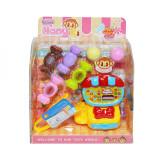 Set casa de marcat + dulciuri, in cutie, China