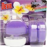 Cumpara ieftin Odorizante WC DR. DEVIL 3 in 1 Sunset Blossom, 3 Buc/Set, 55 ml, Geluri Odorizante WC, Odorizante pentru Toaleta, Odorizant Toaleta, Gel Odorizant pen