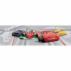 Bordura autoadeziva perete Cars Decofun, vinil, 5 m x 15.9 cm