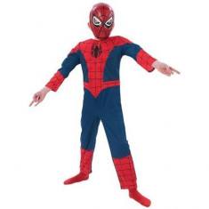 Costum Spiderman clasic 7-9 ani foto