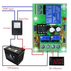 Modul XH-M601 incarcare / protectie baterie / acumulator DC step-down 12V