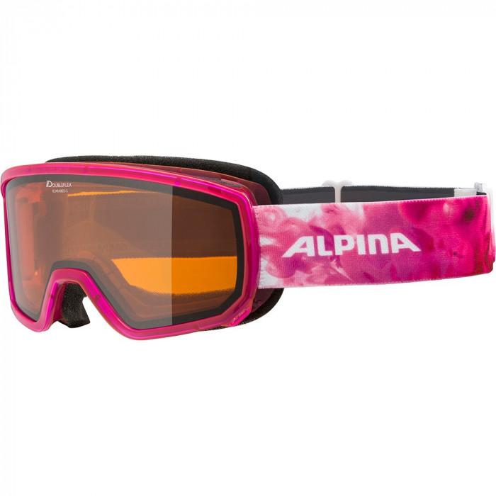 Ochelari Alpina Scarabeo S DH pink translucent