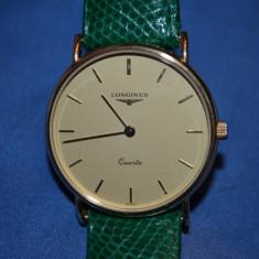 CEAS AUR 18K - LONGINES - Quartz - Cal. L150.4 - Sapphire - Vintage - 14.5g. !