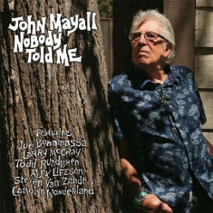 John Mayall Nobody Told Me digipack (cd)