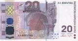 BULGARIA █ bancnota █ 20 Leva █ 2005 █ P-121 █ COMEMORATIV █ UNC █ necirculata