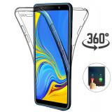 Husa silicon 360° fata + spate Samsung  A3 2017 / A5 2017 / A7 2018 / A8 2018