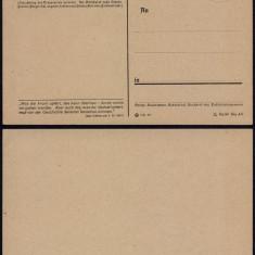 Germany WWII 1941 Postal History Rare Old Field post postcard UNUSED DB.229