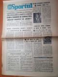 Sportul 20 iulie 1976-nadia comaneci marea vedeta a concursului de gimnastica