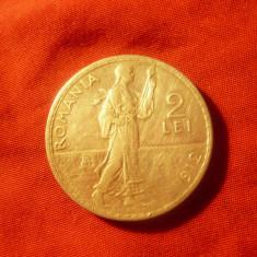 Moneda 2 lei 1912 Carol I argint cal. f.buna