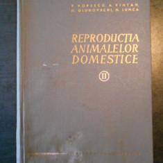 P. POPESCU - REPRODUCTIA ANIMALELOR DOMESTICE volumul 2 (lipsa pagina de titlu)