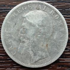 (A114) MONEDA DIN ARGINT ROMANIA - 1 LEU 1900, REGELE CAROL I