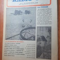 Revista radio-tv saptamana 29 iunie-5 iulie 1975