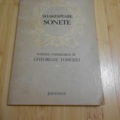 W. SHAKESPEARE--SONETE