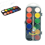 Acuarele Intense Sense cu 12 culori si o pensula