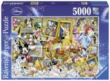 Puzzle Lumea Disney, 5000 Piese