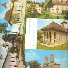 Carte postala 100 Manastiri, Necirculata, Printata