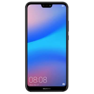 Telefon mobil Huawei P20 Lite, Dual SIM, 64GB, 4G, Midnight Black foto
