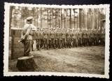 P.115 FOTOGRAFIE RAZBOI WWII OFITER MILITARI GERMANI WEHRMACHT 8,8/6cm